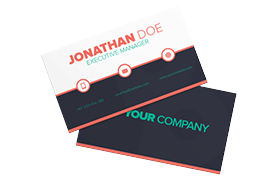 Unique Modern Business Card PSD Template Edition 7