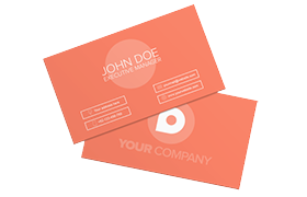 Unique Modern Business Card PSD Template Edition 8