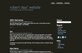 Smooth Dirt WP Theme