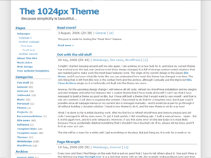 The 1024px WP Theme