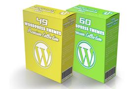 Twin Pack Of 109 Premium Wordpress Themes