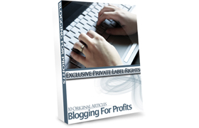 10 Original Articles Blogging For Profits