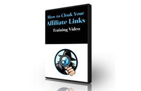 How To Cloak Your Affiliate Links Training Videos