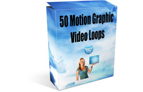 50 Motion Graphic Video Loops