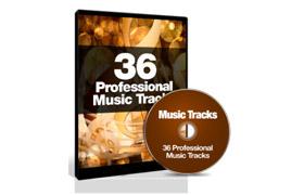 36 Professional Music Tracks