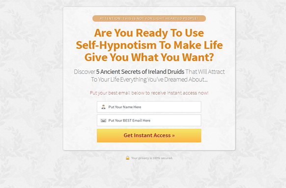 Orange Style Responsive HTML Mobile Squeeze Page Edition 8