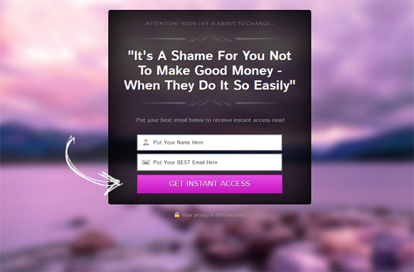 Purple Style Responsive HTML Mobile Squeeze Page Edition 7
