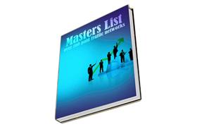 Masters List