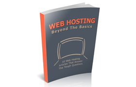 Web Hosting Beyond The Basics