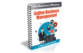 For Maximum Efficiency Online Business Management