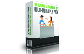 101 Healthy Eating Video Tips Multi-Media PLR Pack
