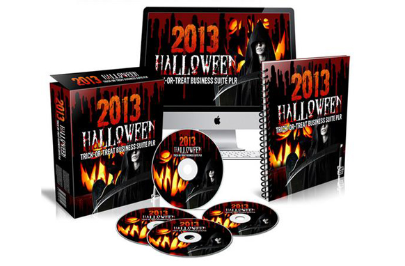 2013 Halloween Trick-or-Treat Business Suite PLR