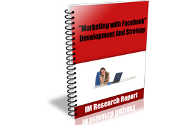 Marketing With Facebook Development And Strategy