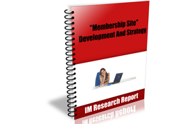 Membership Site Development and Strategy