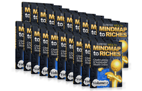 MindMap To Riches Volumes 1 to 15