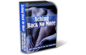 Aching Back No More WP HTML PSD Template