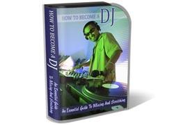 Become DJ HTML PSD Template