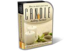 Candle Business HTML PSD Template