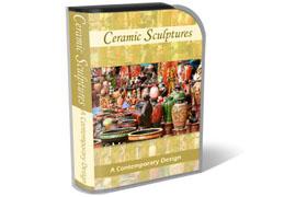 Ceramic Sculpture HTML PSD Template
