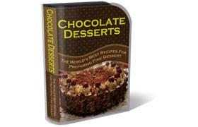Chocolate Desserts WP HTML PSD Template