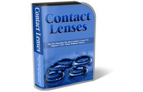 Contact Lenses WP HTML PSD Template