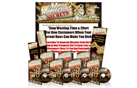 Email Marketing Secrets PSD Minisite Template