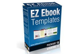 EZ Ebook Templates Package 12