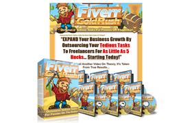 Fiverr Gold Rush PSD Minisite Template