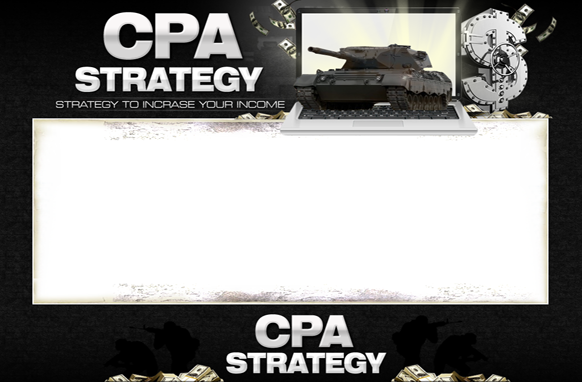 CPA Strategy HTML PSD Minisite Template