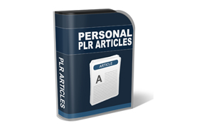 Personal PLR Articles – Email Marketing