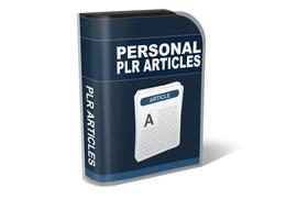Personal PLR Articles – Niche Marketing