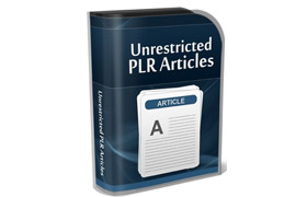 Unrestricted PLR Articles – Personal Finance