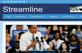 Streamline Premium WP Theme