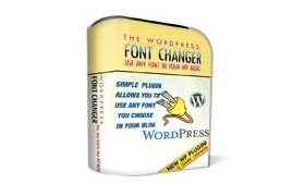 The WordPress Font Changer Plugin