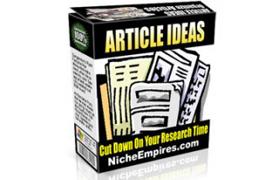 Article Ideas