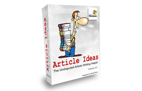 Article Ideas Version 2.0