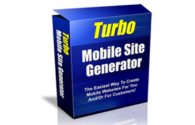 Turbo Mobile Site Generator