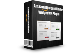 Amazon Discount Finder Widget WP Plugin