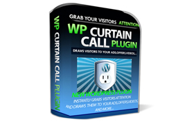 WP Curtain Call Plugin