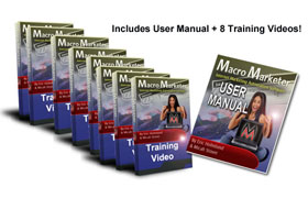 Macro Marketer Training Videos