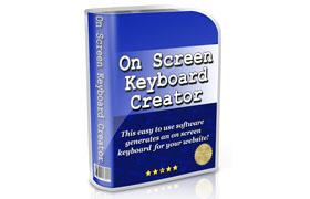 On Screen Keyboard Creator