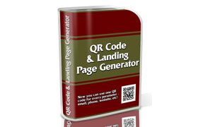 QR Code and Landing Page Generator