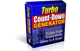 Turbo Count-Down Generator
