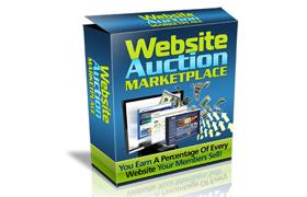 Website Auction Marketplace