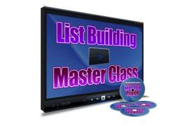 List Building Master Class