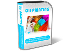Oil Painting HTML PSD Template