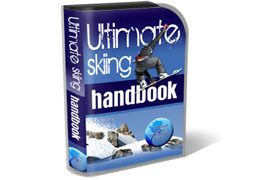 Skiing HTML PSD Template