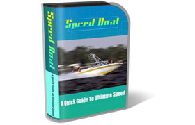 Speed Boat HTML PSD Template