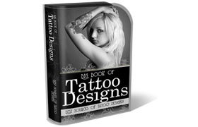 Tattoo Design HTML PSD Template