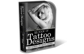 Tattoo Design HTML PSD Template